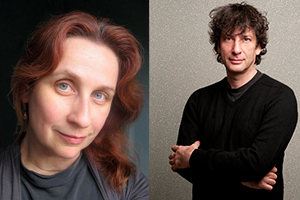 [Neil Gaiman in Conversation with Audrey Niffenegger]
