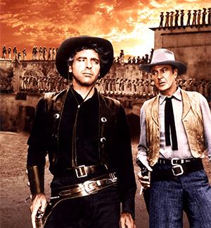 [Film Series:Reinventing Mexico] Burt Lancaster and Gary Cooper in Vera Cruz, United Artists/Photofest