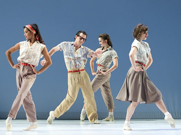 [American Ballet Theatre] Company B, Photo by Rosalie O'Connor
