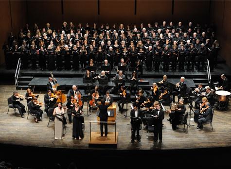 [Bard College Symphonic Chorus] Photo: Karl Rabe