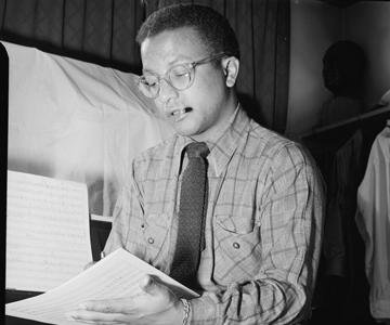 [The Ellington Effect:A Centennial Tribute to Billy Strayhorn] Photo: William P. Gottlieb