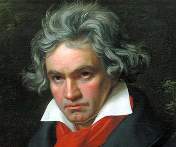 [Conservatory Weekends] Ludwig von Beethoven, portrait by Joseph Karl Stieler, 1820