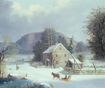 [Winter Songfest] Portrait of Joseph Haydn by Thomas Hardy
