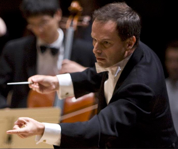 [Federico Cortese Conducts Debussy] Photo by Matt DIne