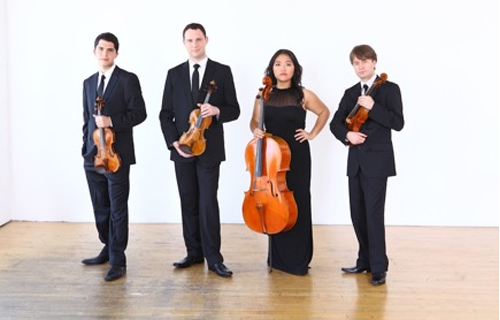 [Calidore String Quartet] Courtesy of the artists