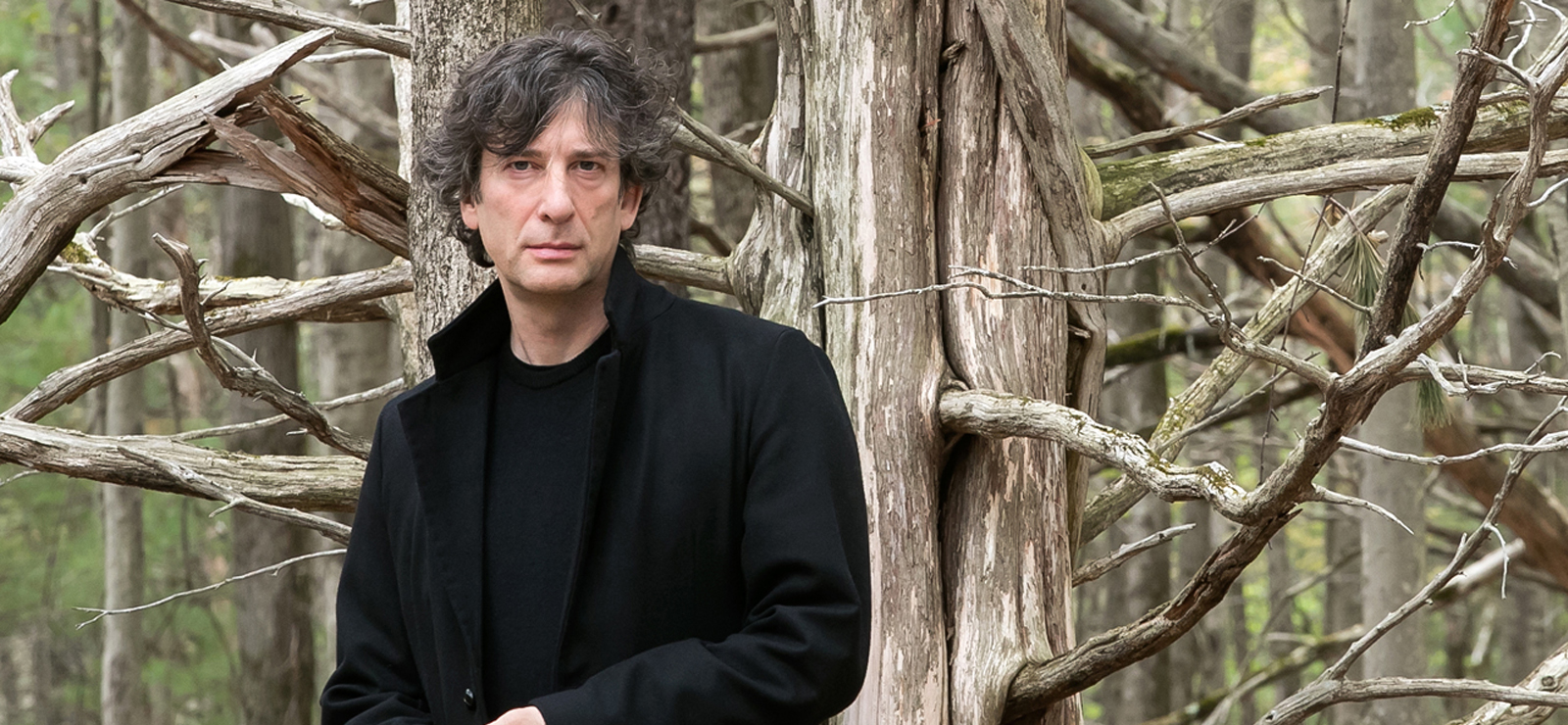 [An Evening with Neil Gaiman and Daniel Handler] Photo by Meredith Heuer