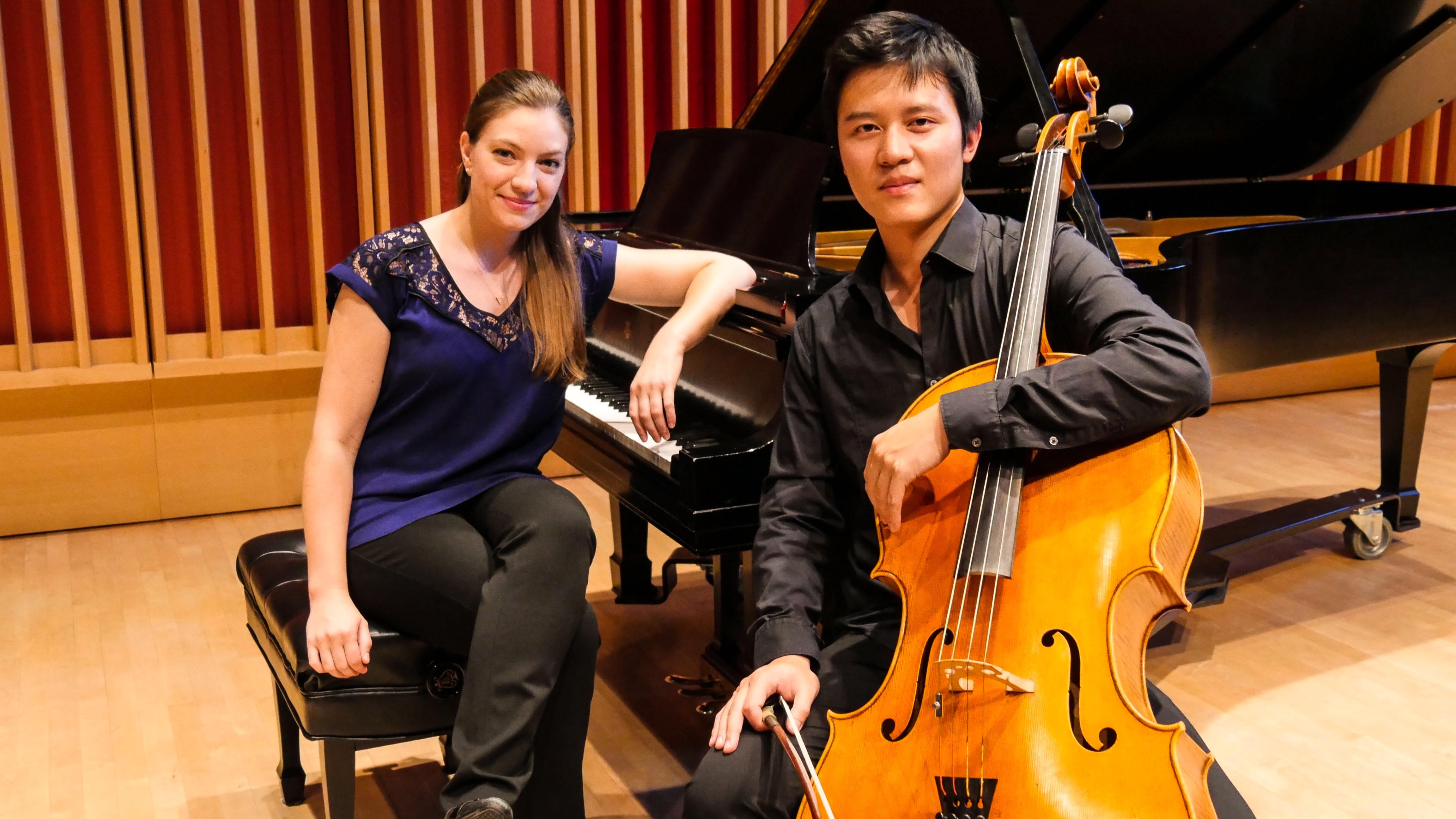 image for Chang Pan, cello, and Erika Allen, piano
