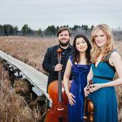 image for Neave Trio:violinist Anna Williams, cellist Mikhail Veselov, and pianist Eri Nakamura
