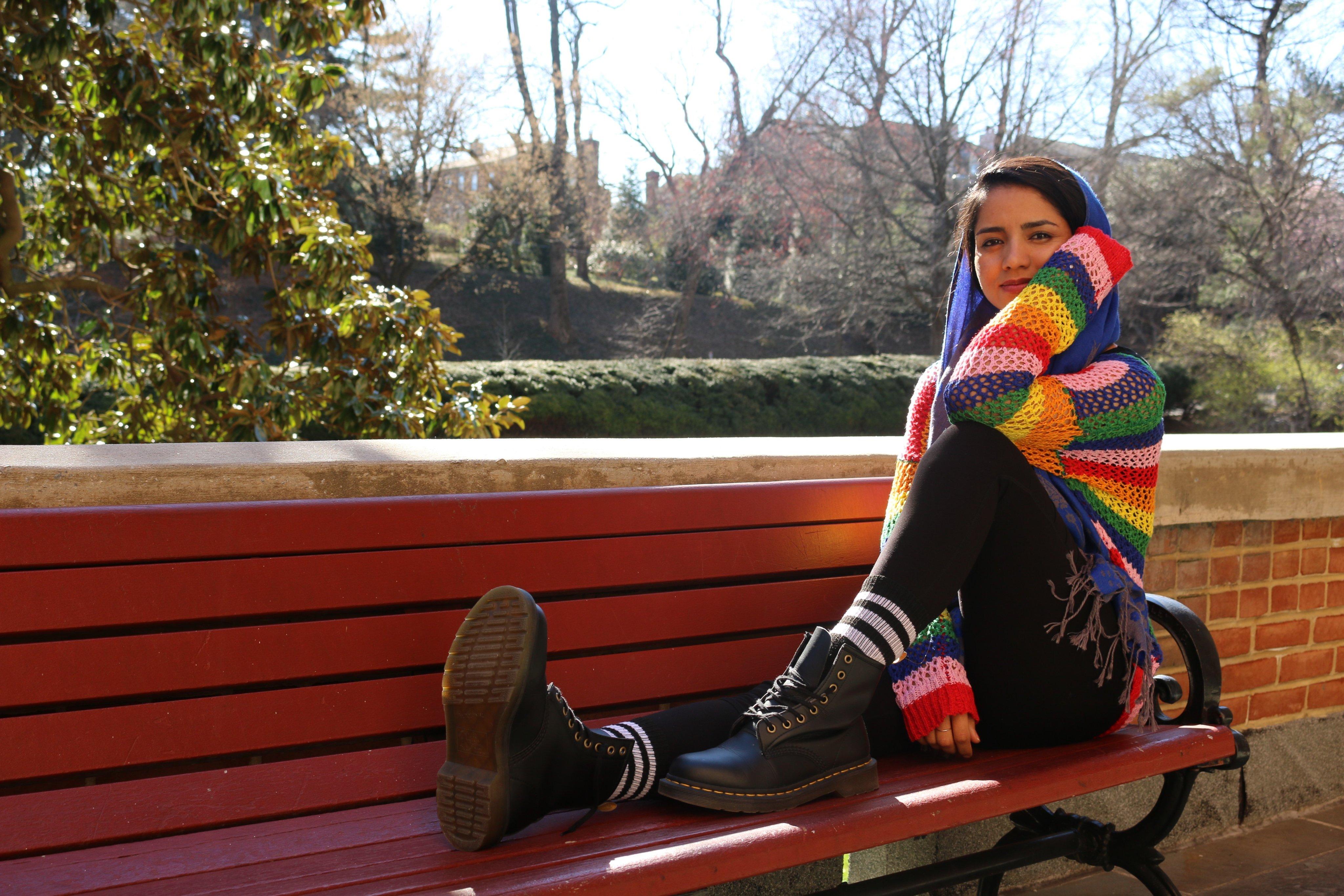 Sonita Alizada '23. Photo courtesy Normandy for Peace Initiative.