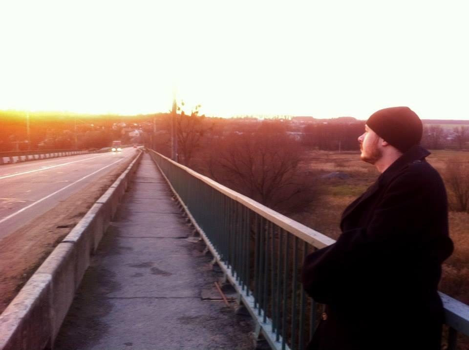 Dan Cline in Haisyn, Ukraine. All photos courtesy of Dan Cline.