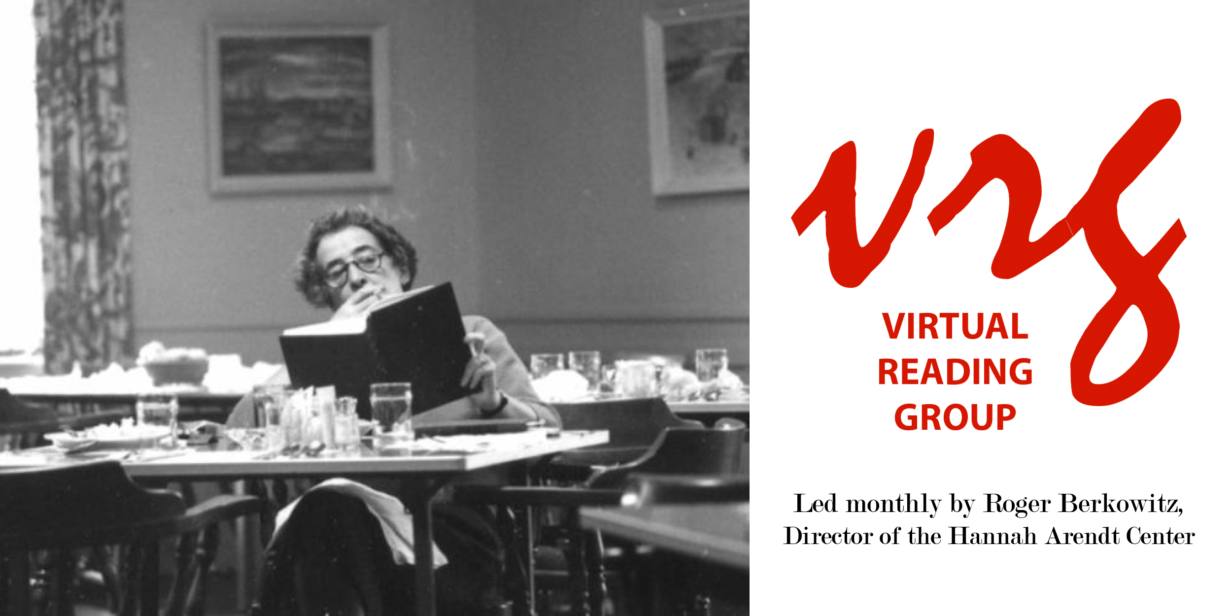 [Monthly Virtual Reading Group for Hannah Arendt Center Members]