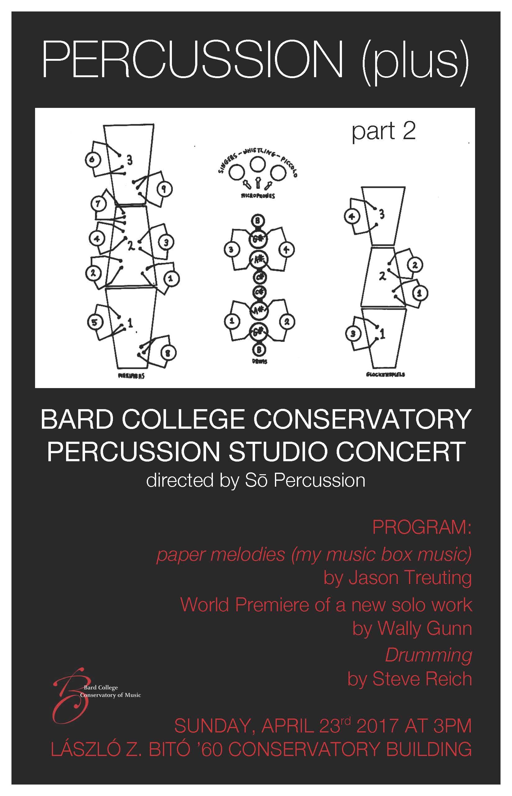 [Conservatory Percussion Studio Concert]