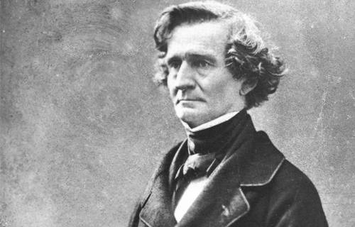 [Program TwelveShared Passions, Different Paths] Portrait of Hector Berlioz by Félix Nadar 1820-1910; Wikimedia Commons