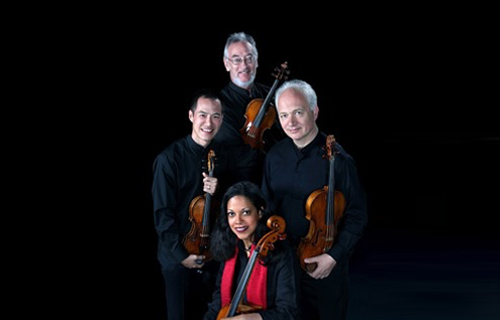 [The Juilliard String Quartet] Courtesy of the artists