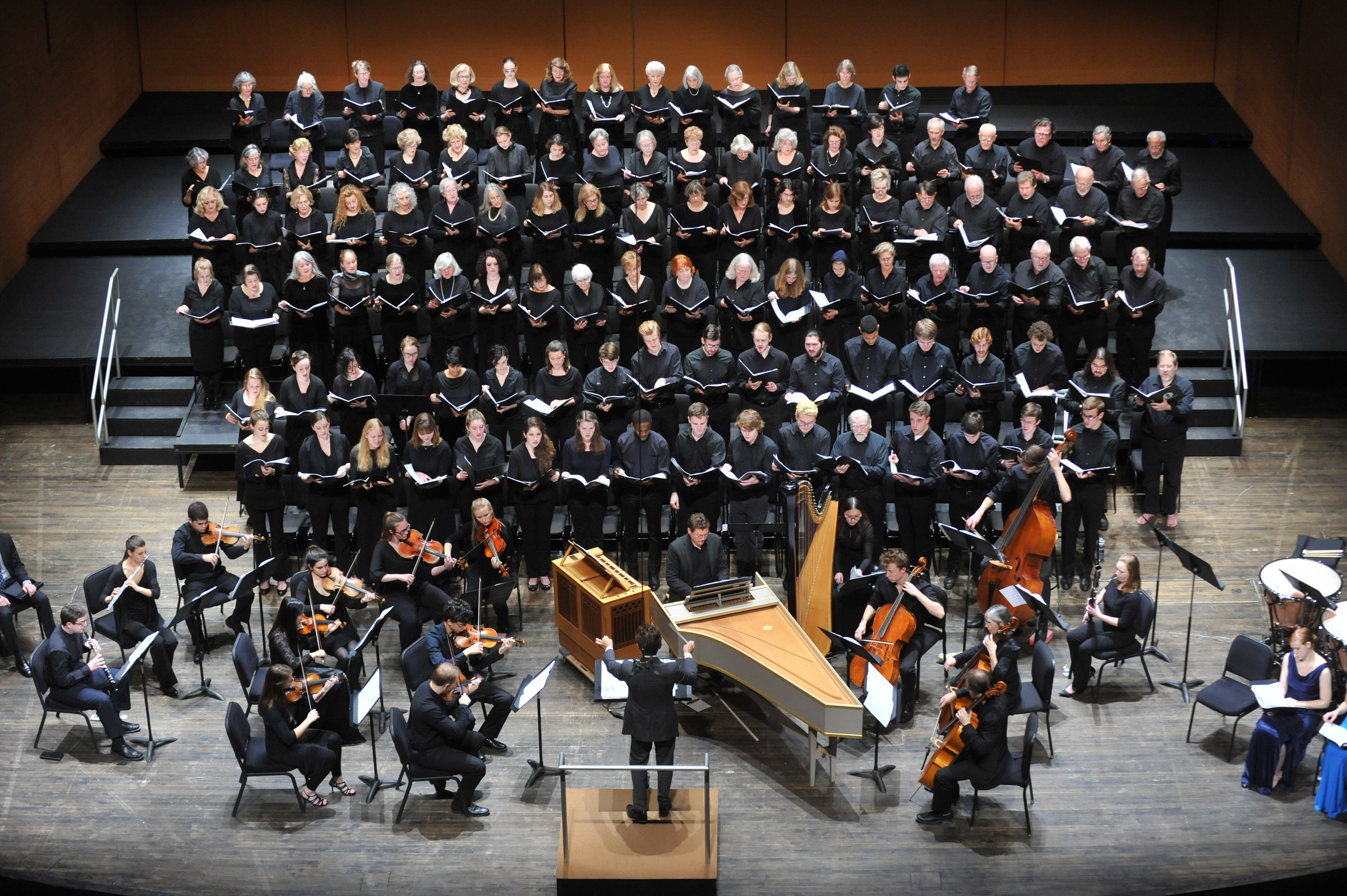 [The Bard Music Program presents A Choral Concert featuring:The Bard College Chamber SingersThe Bard College Symphonic ChoruswithThe Bard Baroque Ensembleand soloists from the Graduate Vocal Arts Program]