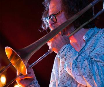 [Celebrating 100 Years of Jazz] Chris Washburne, photo by Eberhardt Smith