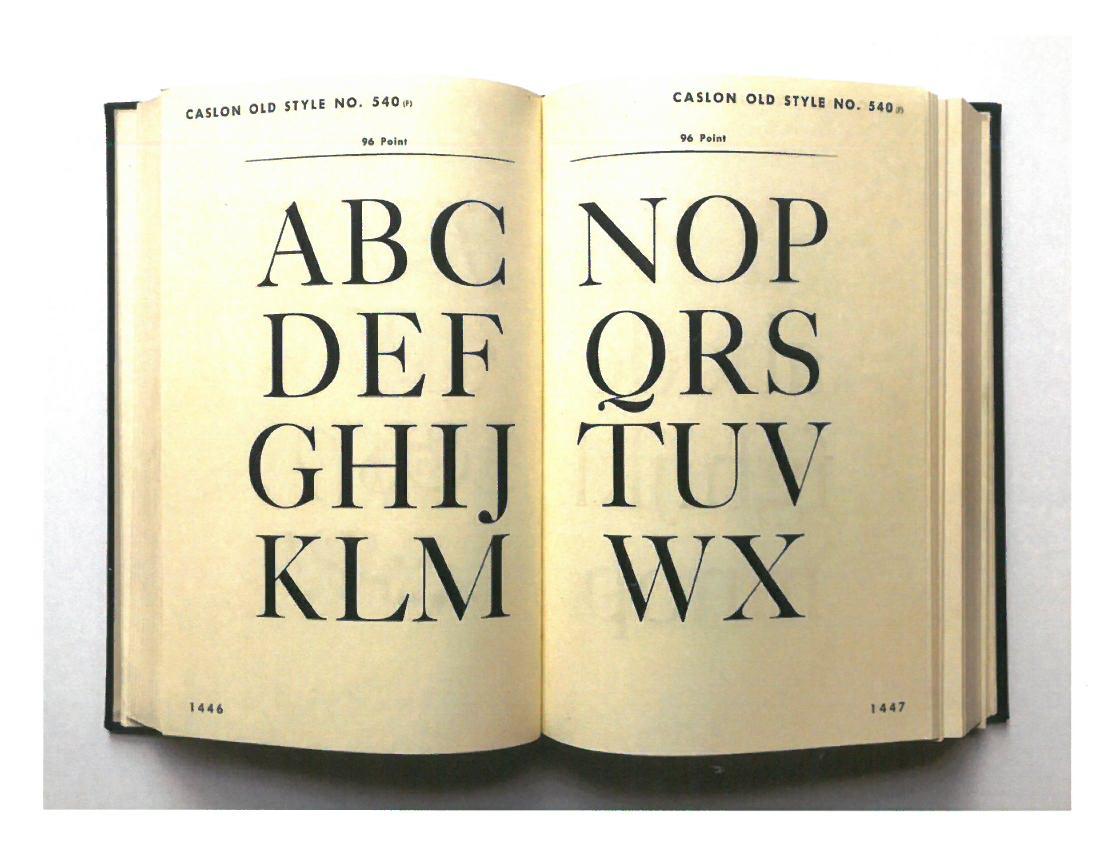 [The Design of Books]