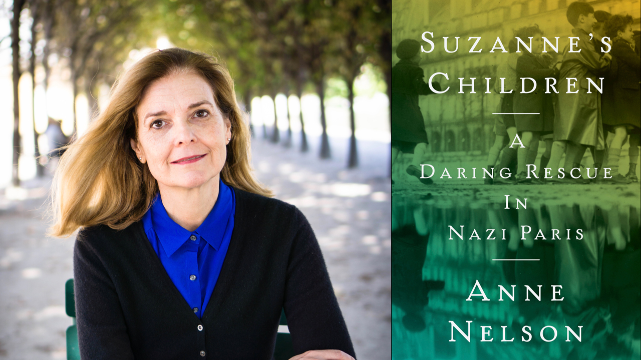 [Dinner and Discussion with author Anne Nelson: Nazi Berlin and Paris: Lessons in Resistance]