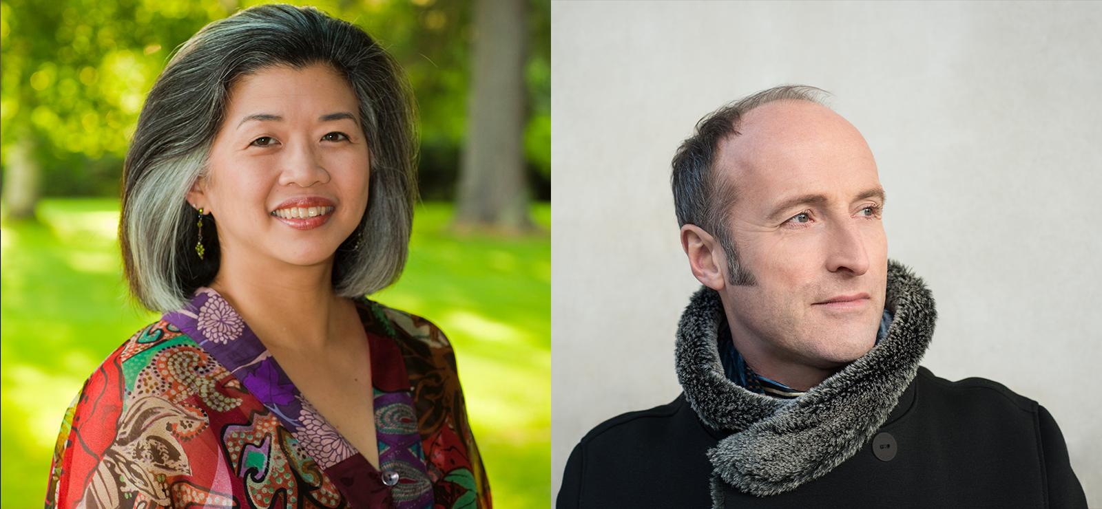[Schubert's Winterreise] Kayo Iwama by Michael Lynch; Rufus Müller by Eleanor Bentall