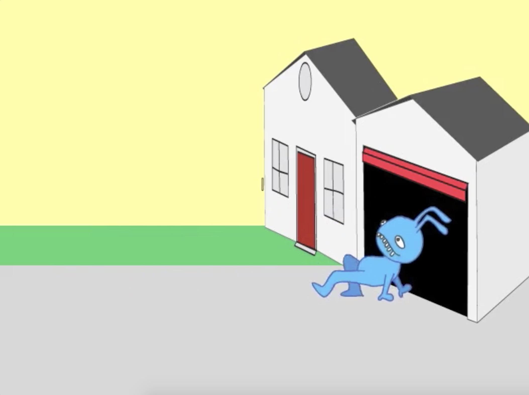 "[You Can ""Enter a Garage"" but Can You Also ""Crab-walk a Garage""?]"