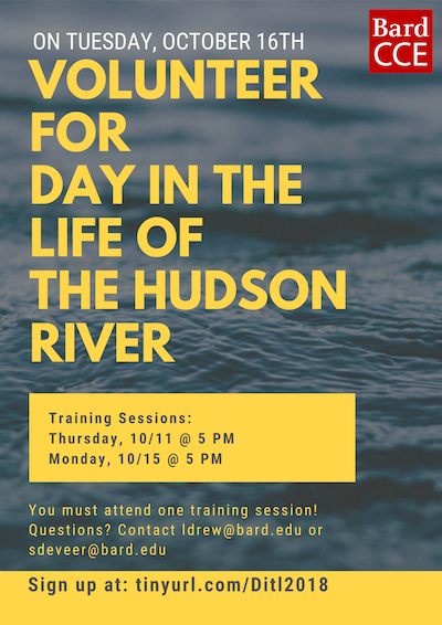 [Training Session for a Day in the Life of the Hudson River]