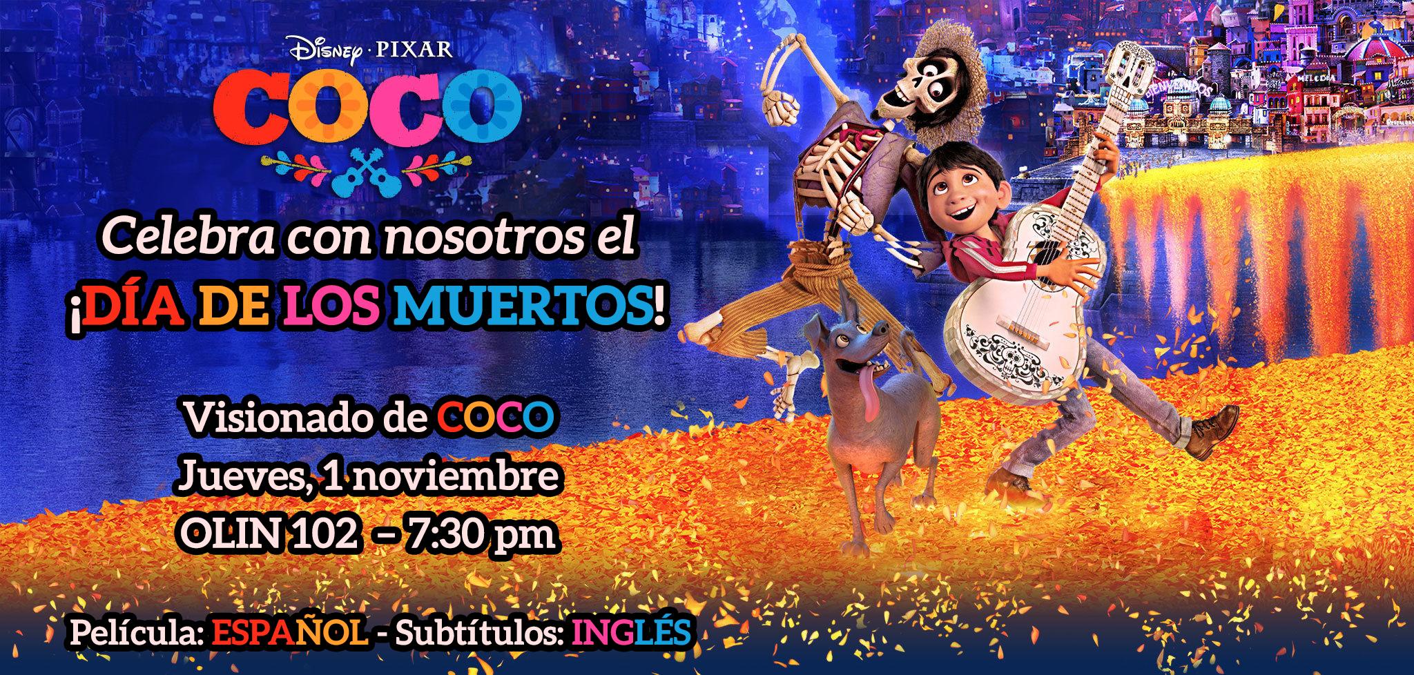 [Screening of Cocoto CelebrateEl Día de los Muertos]