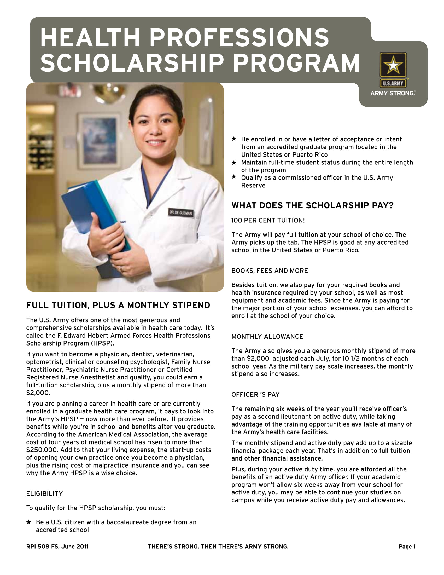 [U.S. Army Health Care Recruiting]