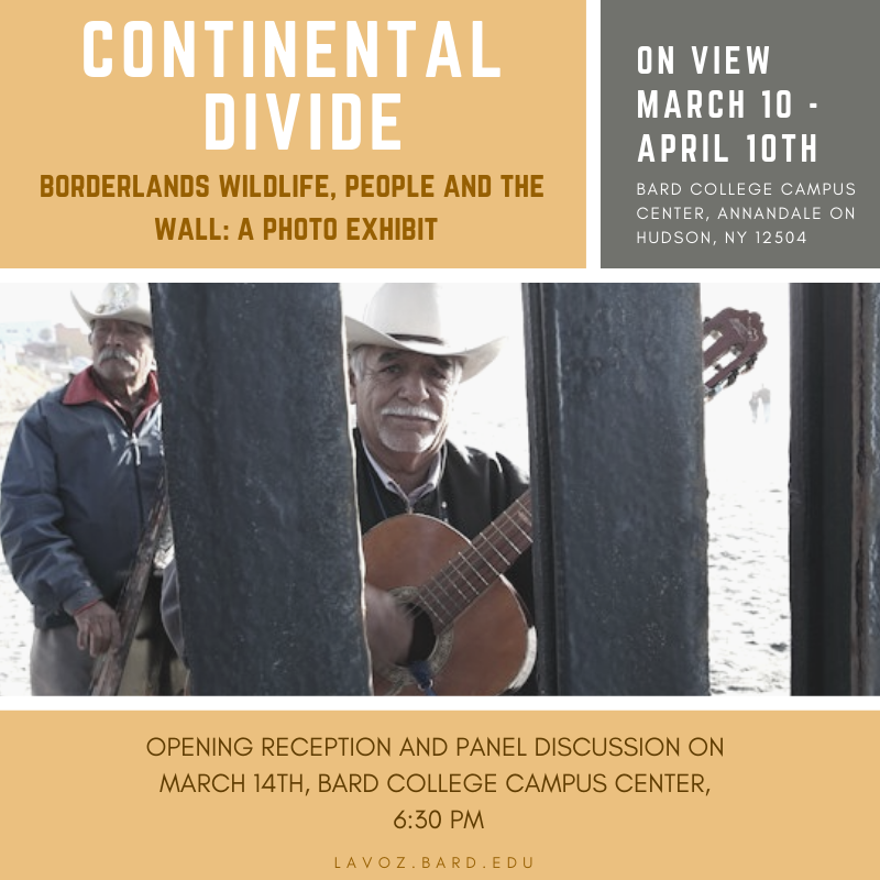 [Continental Divide: Borderlands Wildlife, People, and the Wall]