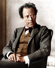 [Symphony No. 2 by Gustav Mahler] Gustav Mahler; ©Boosey and Hawkes 