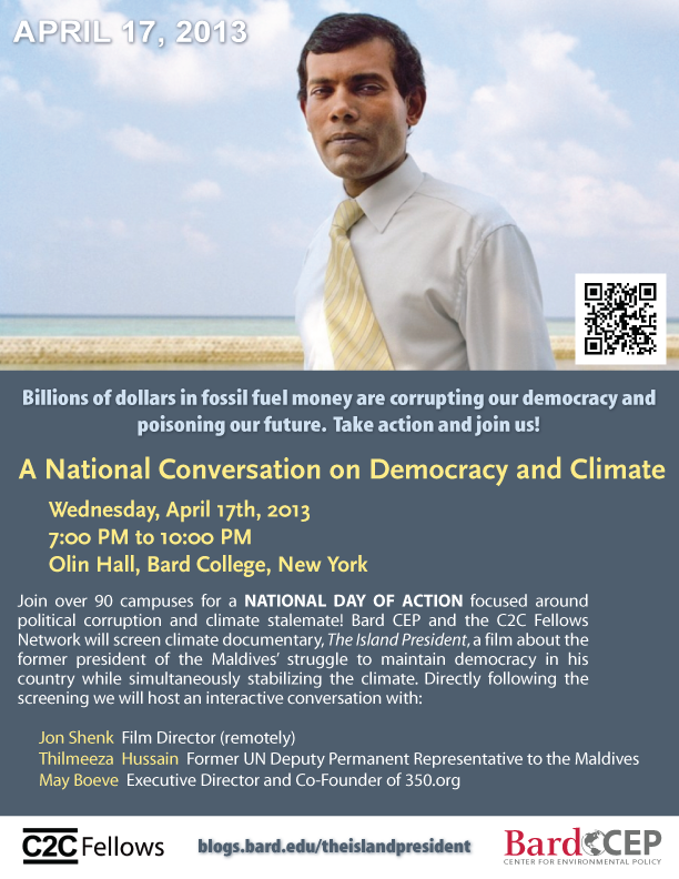 [A National Conversation on Democracy and Climate]