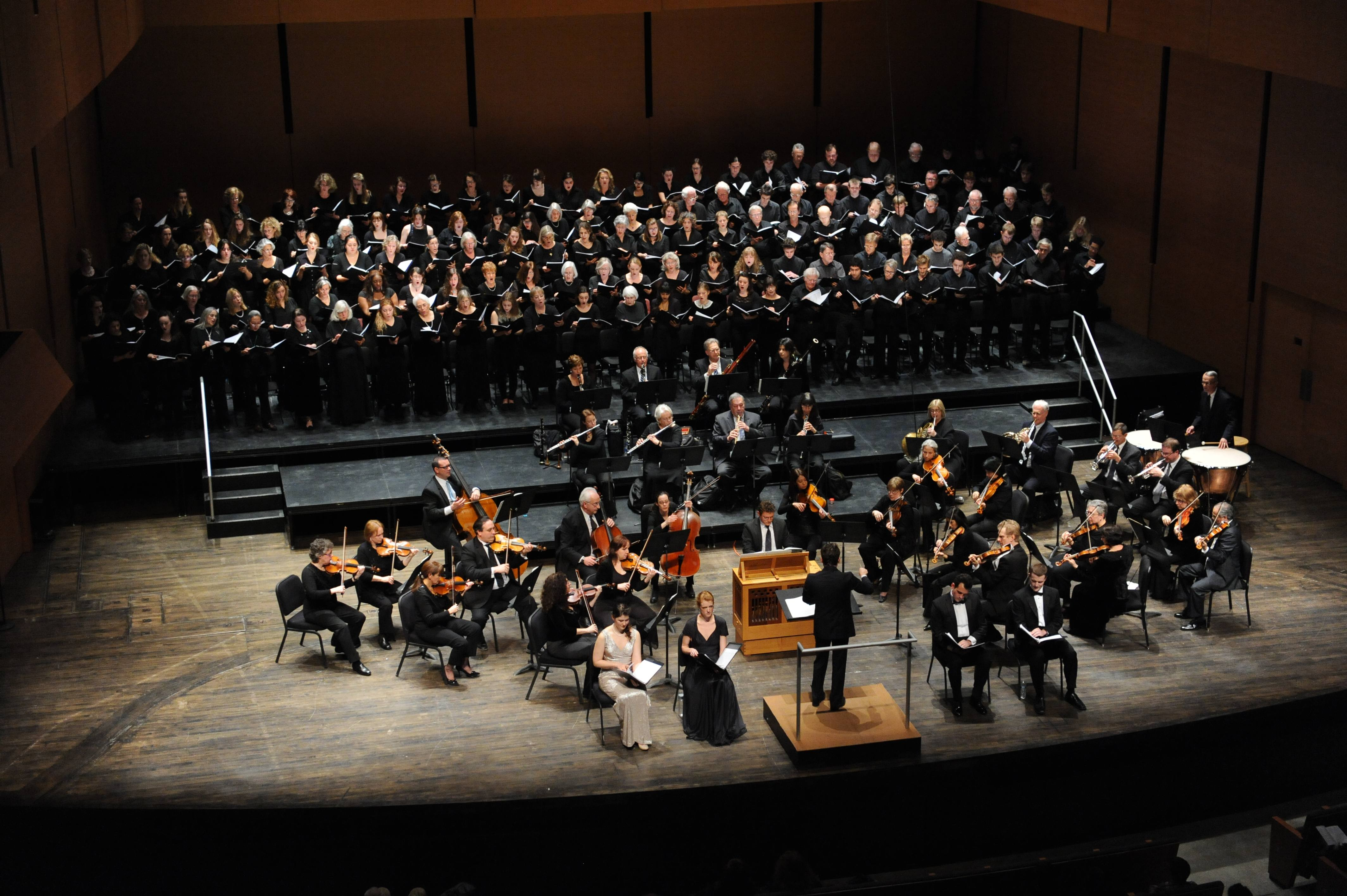 [Bard College Chamber Singers and Symphonic Chorus]