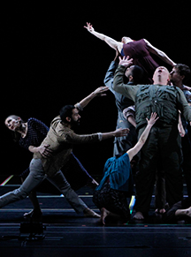 [Bill T. Jones/Arnie Zane Dance Company and SITI Company] Photo by Paul B. Goode