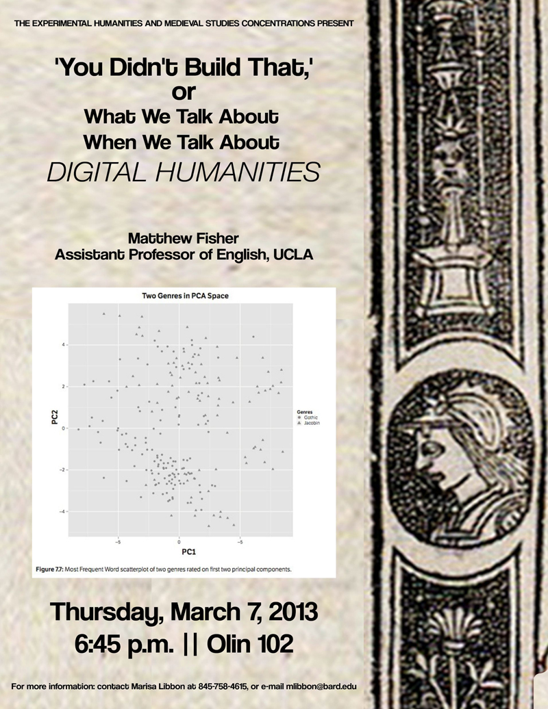 "[""'You Didn't Build That,' or What We Talk About When We Talk About Digital Humanities""]"