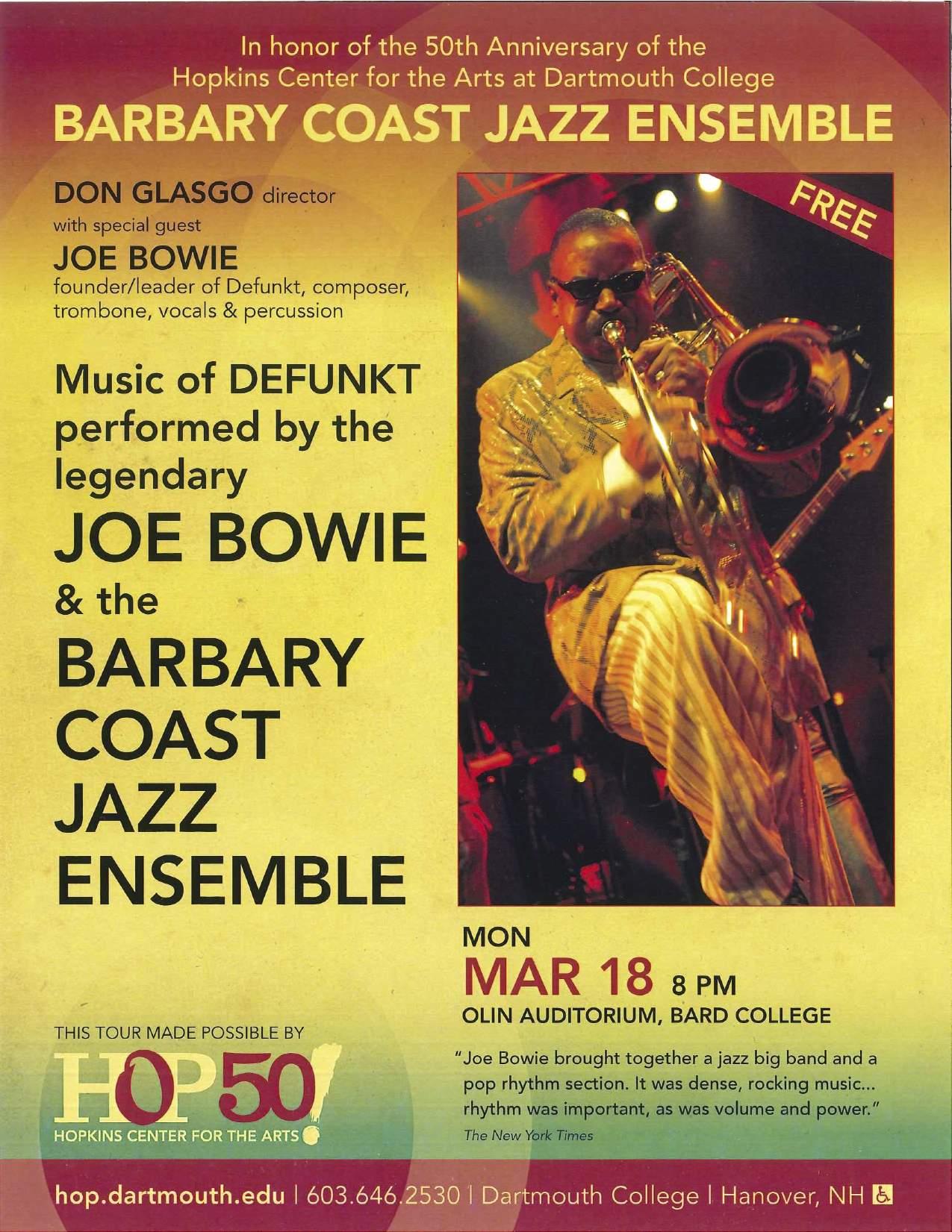 [Barbary Coast Jazz Ensemble]