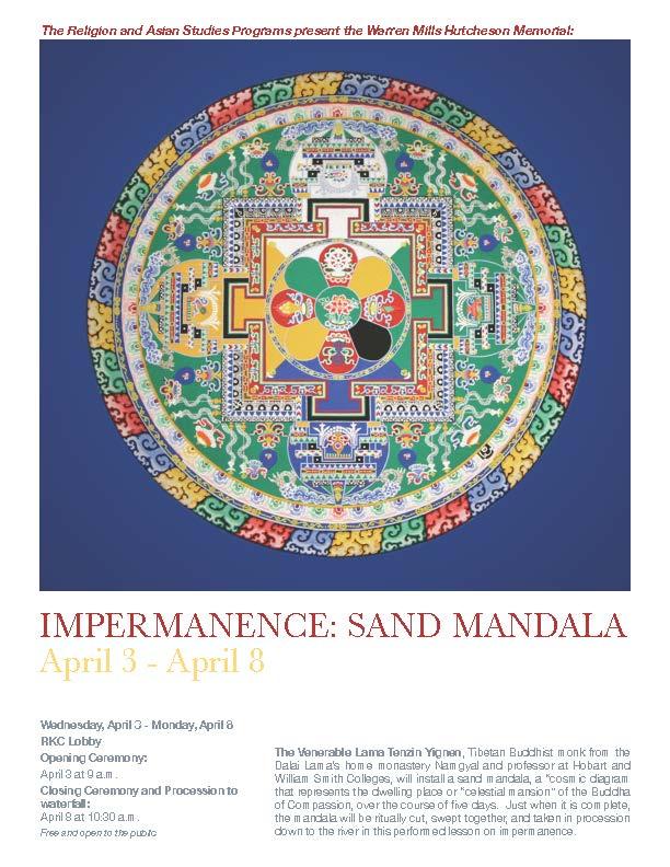 [Impermanence: Sand Mandala Opening Ceremony]
