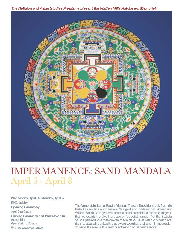 [Impermanence: Sand Mandala Closing Ceremony]