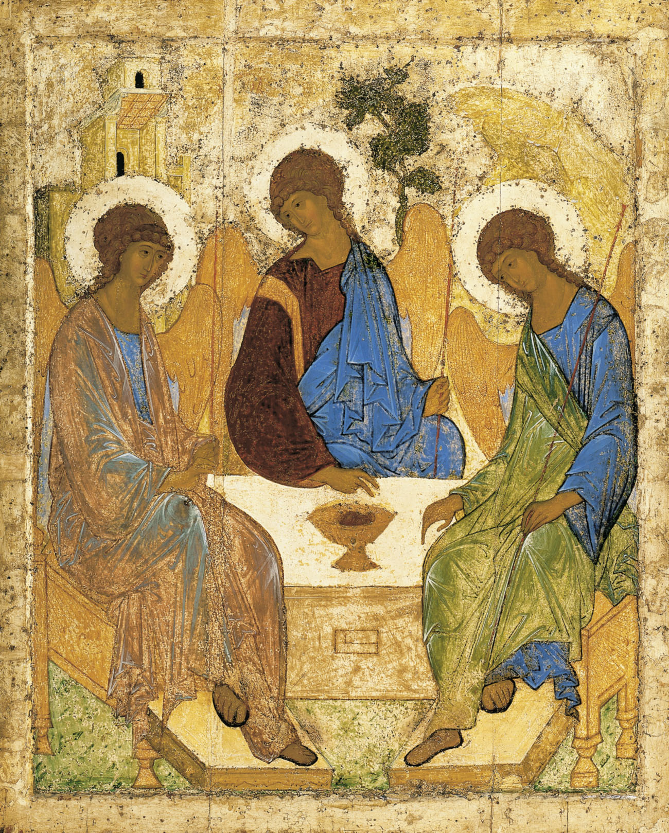 [Philip Fedchin, Senior Lecturer, Smolny College] Andrei Rublev, Trinity, 15th Century