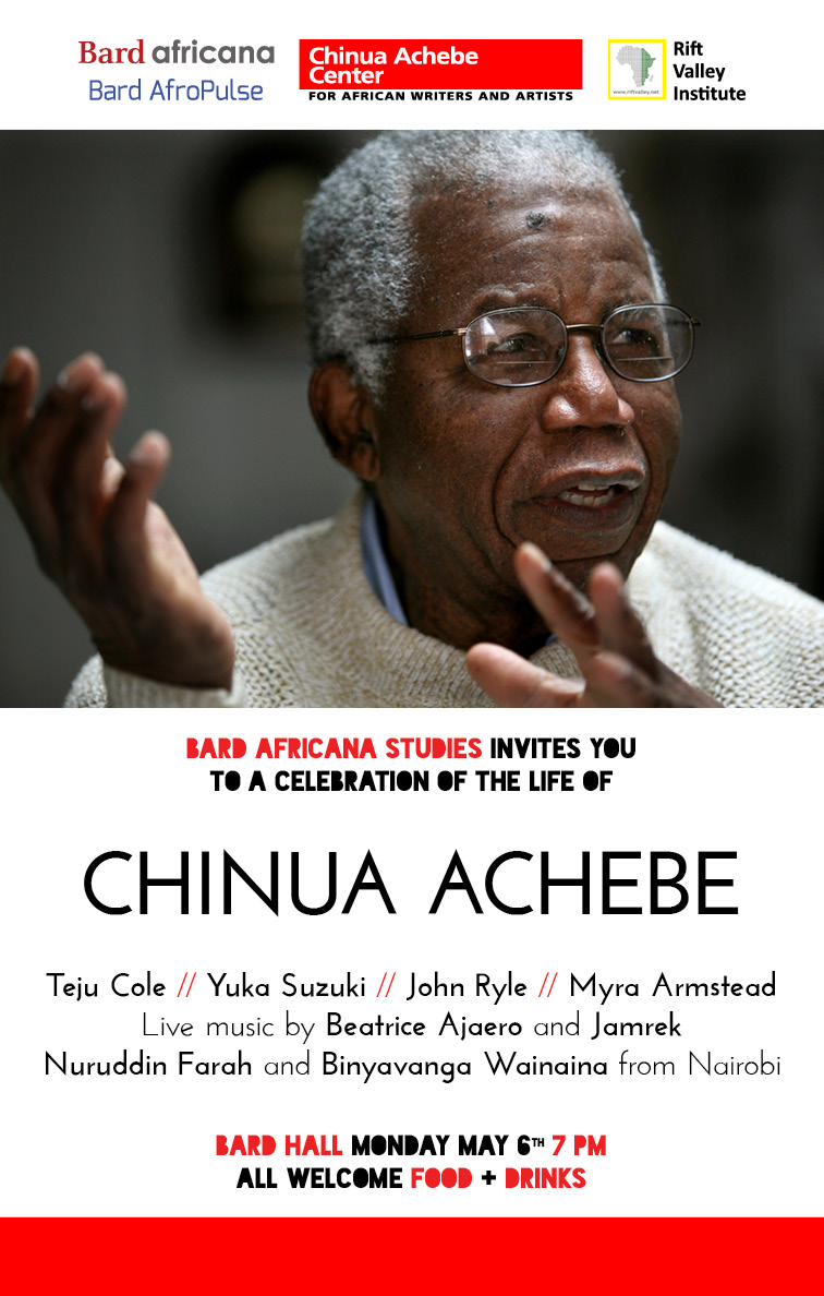 [Africana Studies Spring Party: Celebrating the Life of Chinua Achebe]