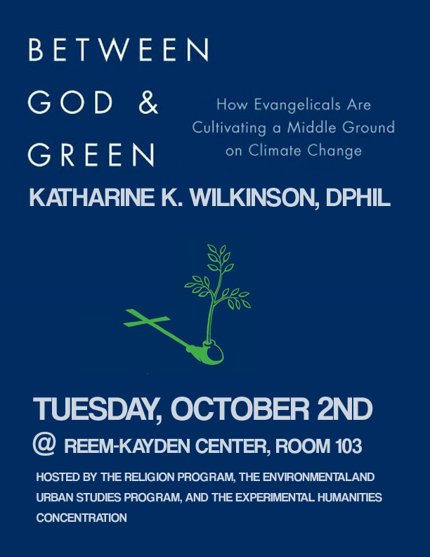 "[""Between God and Green: How Evangelicals Are Cultivating a Middle Ground on Climate Change""]"