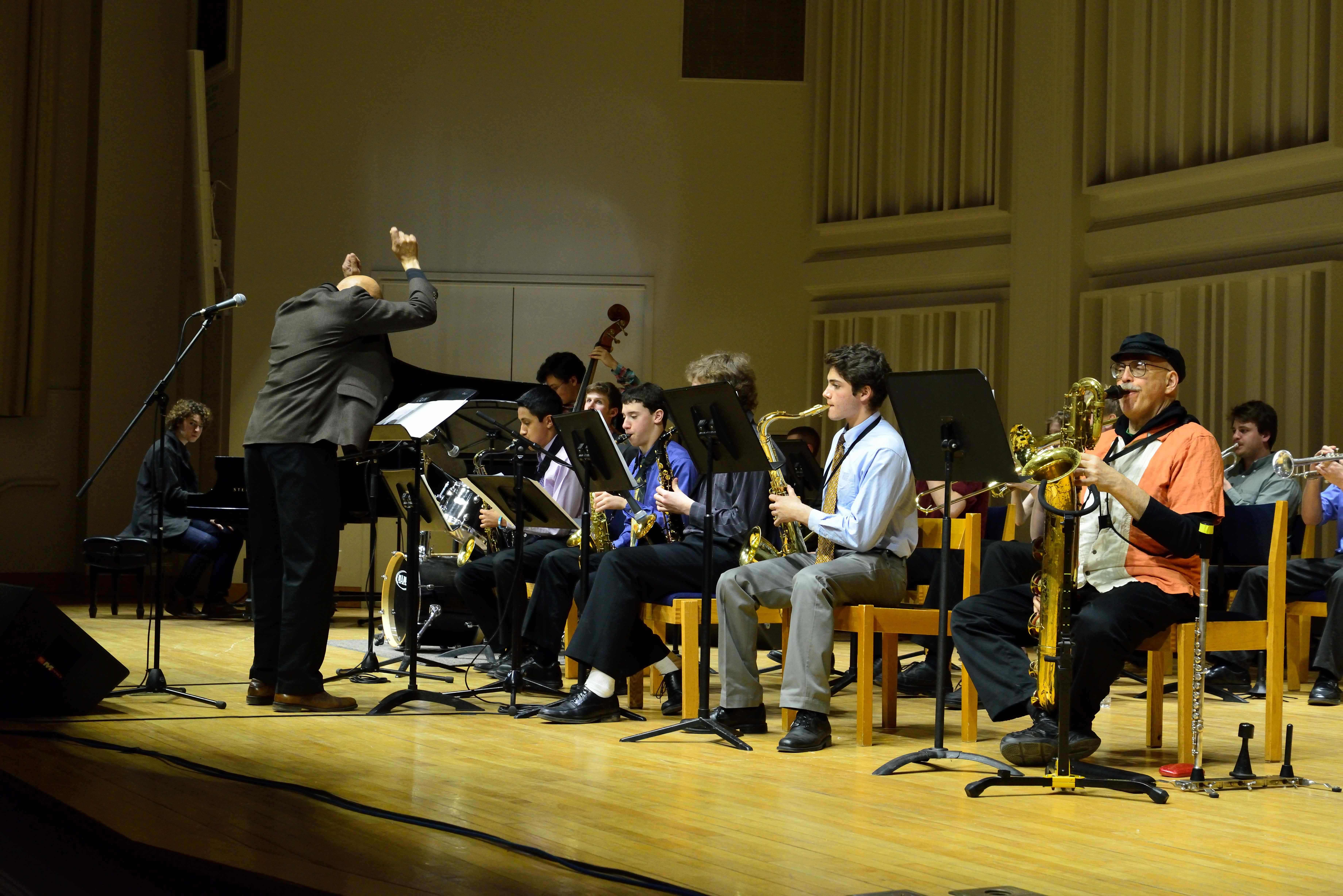 [The Bard College Community Jazz Orchestra]