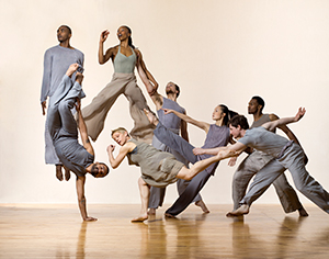 [Bill T. Jones/Arnie Zane Dance Company ] Photo by Lois Greenfield