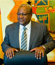 [Ghanaian President John Dramani Mahama to Deliver Inaugural Chinua Achebe Leadership Forum Lecture at Bard College] Photo courtesy of the Republic of Ghana
