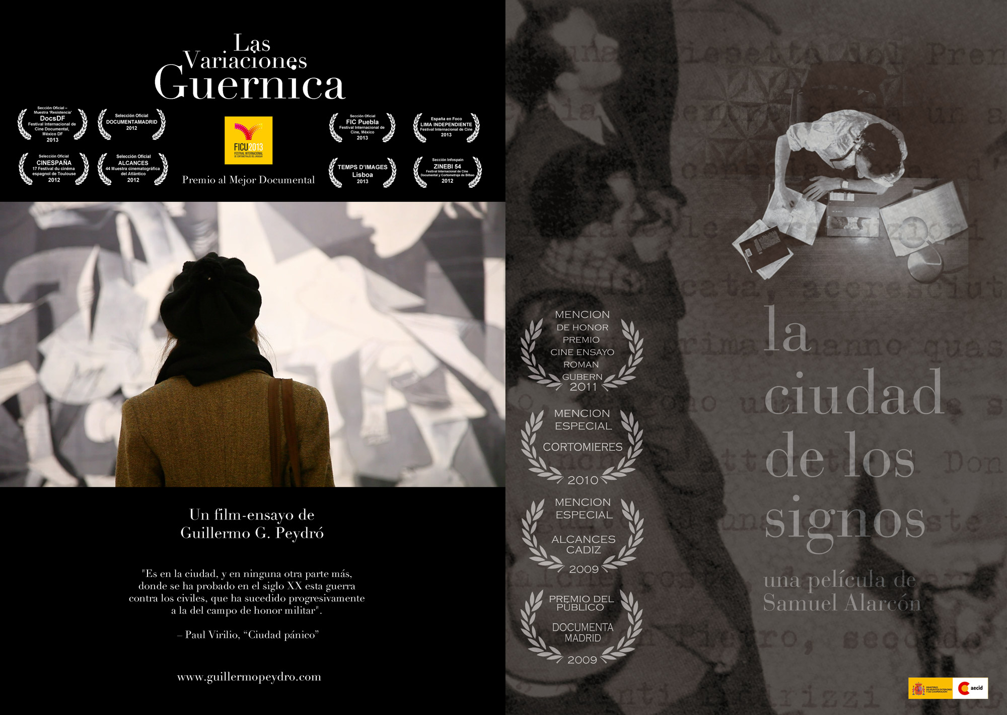 [Meet the Filmmakers! The Guernica Variations and City of Signs]