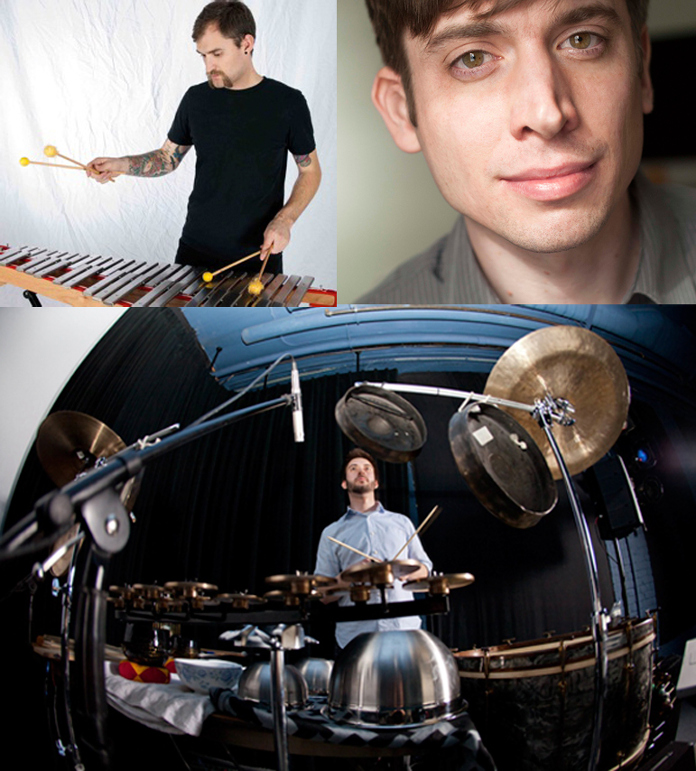 [TONIGHT! - Faculty Concert: The Percussion Works of Matt Sargent]
