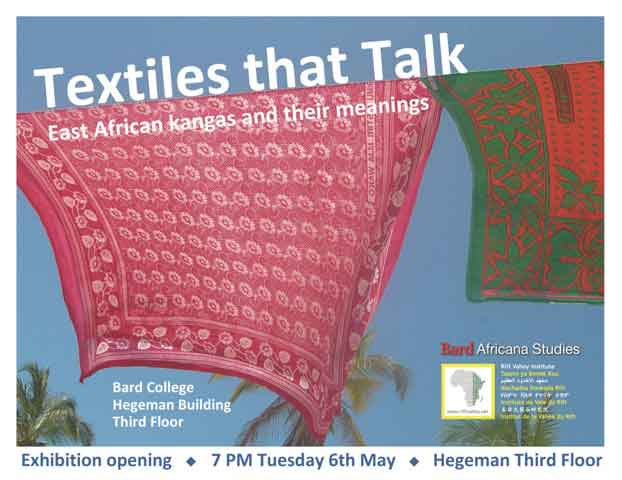 [Textiles that Talk: East African Textiles and their Meaning]