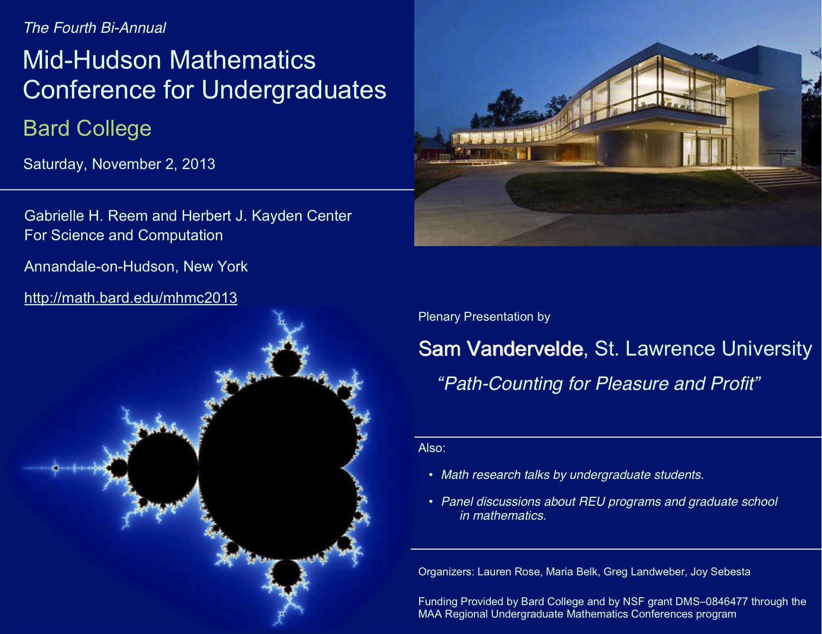 [Mid-Hudson Math Conference for Undergraduates]